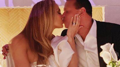 Jennifer Lopez deelt foto's verlovingsfeestje