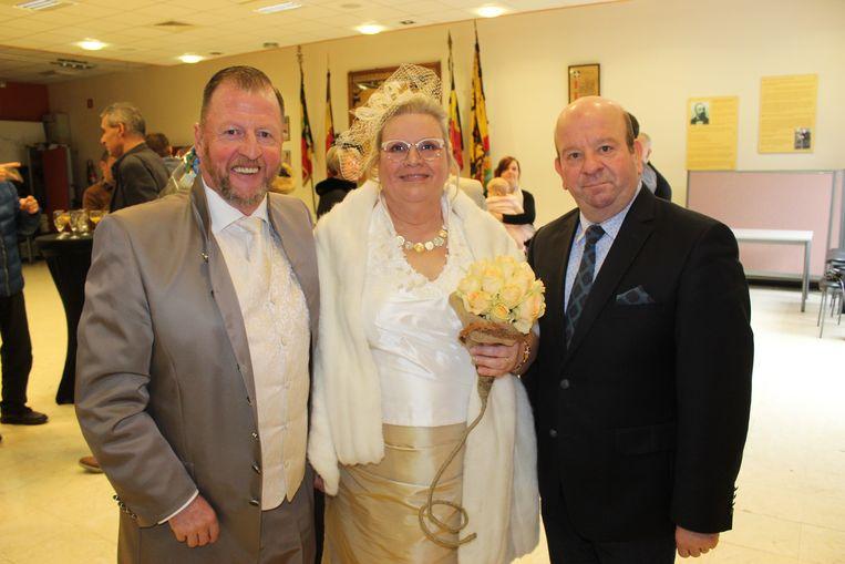 Dirk De Smul trouwde Erwin Van Parys en Rita De Brouwer als laatste koppeltje.