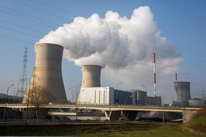 De Belgische kerncentrale Tihange bij Luik, waar met staal is gesjoemeld