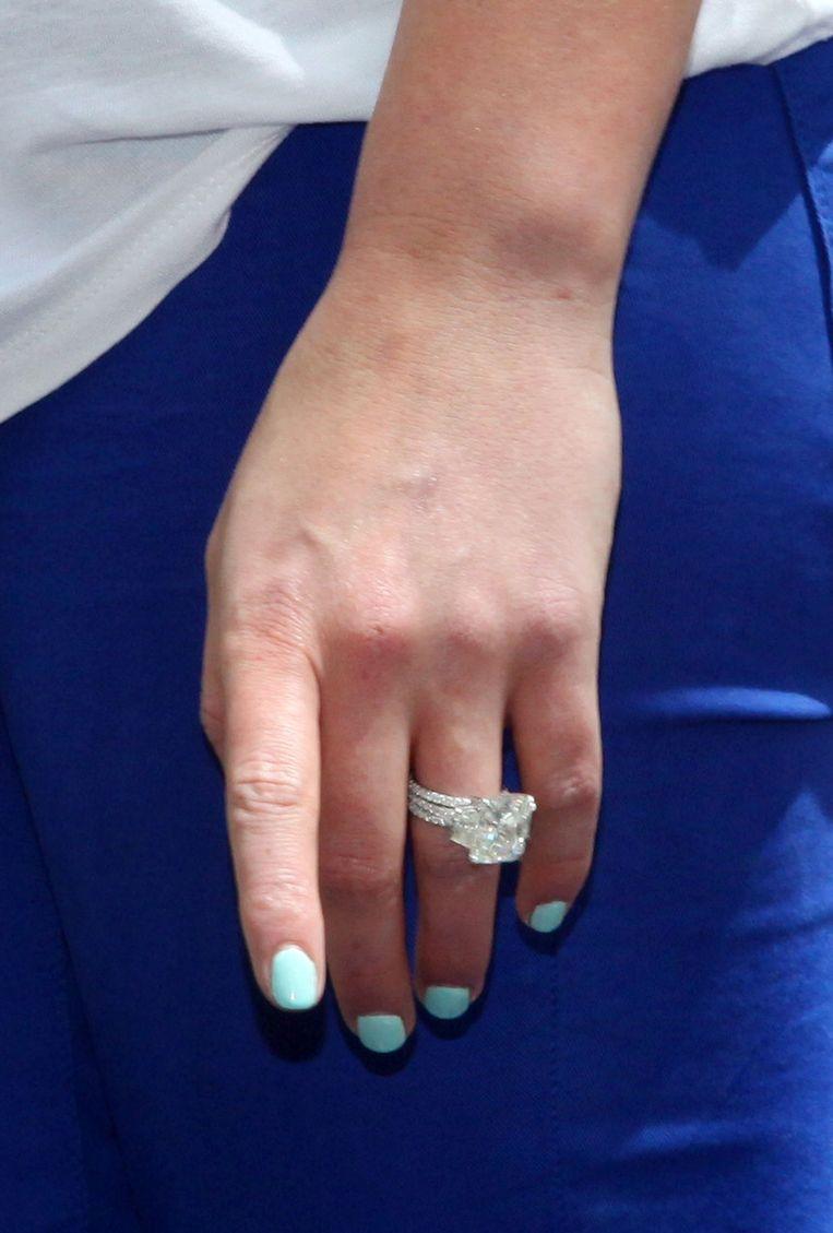 Hilary Duff: de ring van dichtbij bekeken.