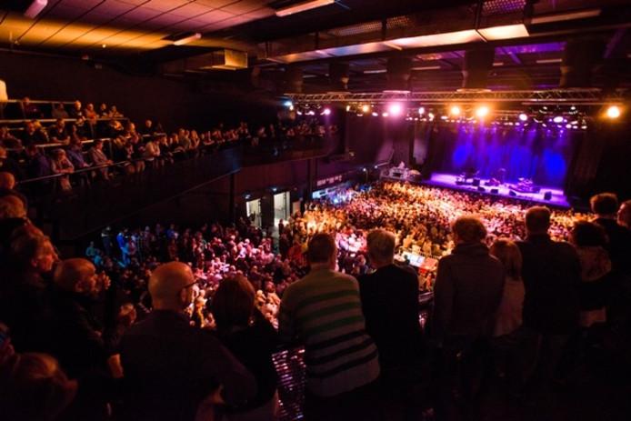 Concert in Poppodium 013. Archieffoto BeeldWerkt