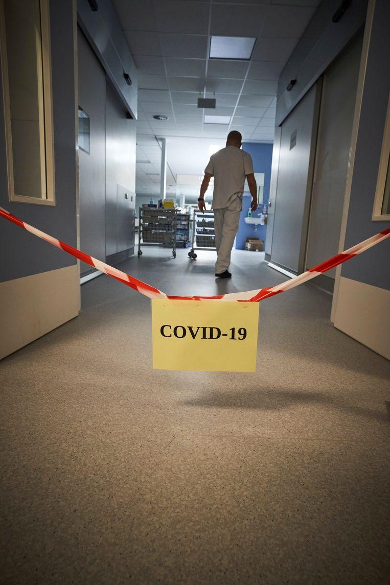 Het leegstaande rusthuis wordt een zorghotel voor Covid-19 patiënten (archiefbeeld, niet uit Kortrijk).