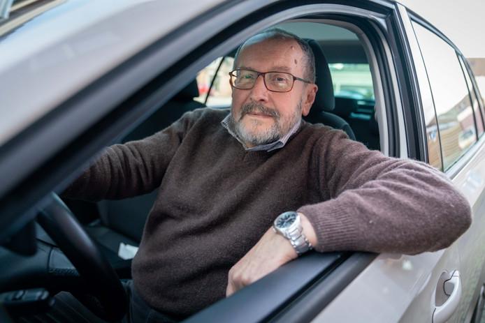 Peter Runge zit graag achter het stuur.