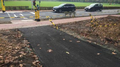Nieuw fietspad maakt het mogelijk om van Nieuwenhove naar Erkegem te rijden