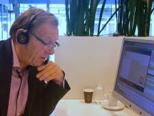 Burgemeester beantwoordt telefoontjes van Zeistenaren: 'Goedemorgen, met burgemeester Koos Janssen'