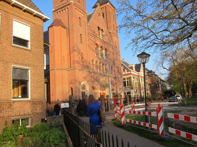 null Beeld De Gertrudiskapel, voormalige schuilkerk.