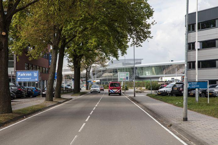 Vanuit deze richting komt straks het meeste verkeer aanrijden op Eindhoven Airport.