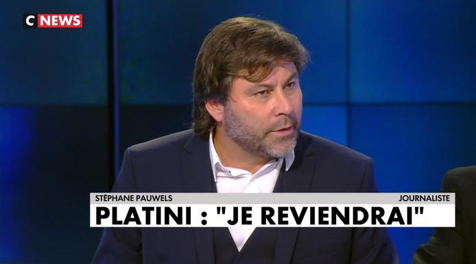 """Stéphane Pauwels a participé à un talk-show sur le foot vendredi soir sur CNews. Une première qui s'est """"super"""" bien passée, selon l'animateur."""