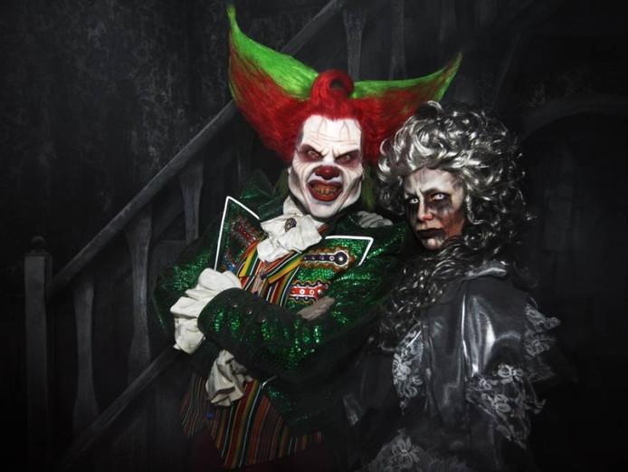 Eddie de Clown is een van de horrorattracties van Walibi.