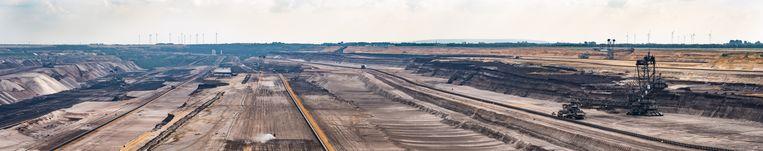 Bruinkoolwinning in Duitsland Beeld Hollandse Hoogte / EyeEm Mobile GmbH