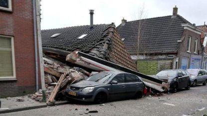 Kleuter zit klem onder ingestort pand na explosie in Nederland