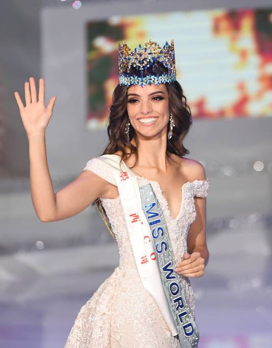 De Mexicaanse Vanessa Ponce de Leon werd vandaag tot Miss World gekroond.