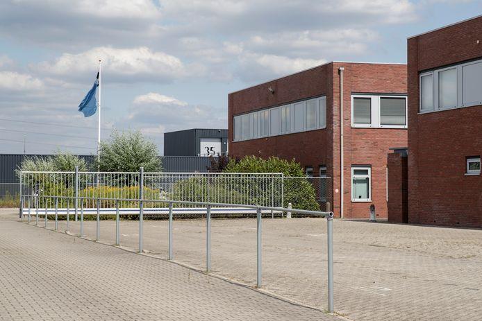 Een depot van de Dienst Vervoer & Ondersteuning in Zupthen