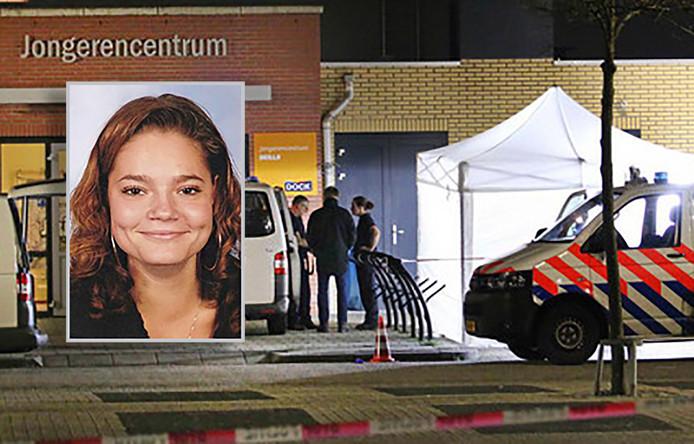 Jessica Slui uit Middelharnis kwam op 9 april om het leven bij een steekpartij.