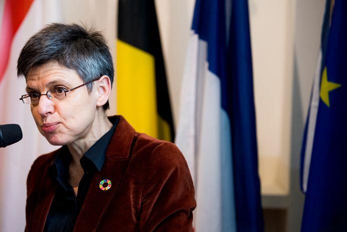 Antwerps gourverneur Cathy Berx