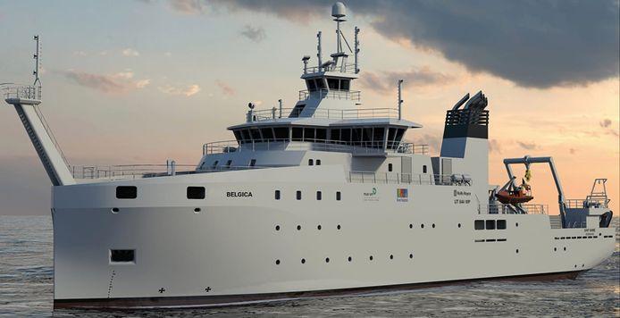 Onderzoeksschip RV Belgica