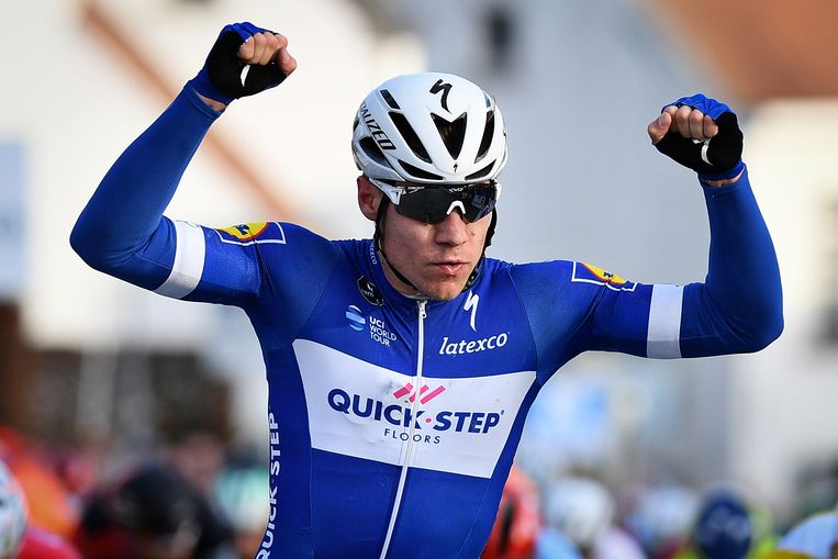 Jakobsen won vorige week nog in Handzame.