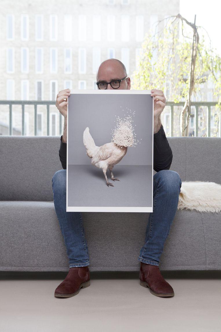 Fotograaf Vincent van Gurp. Beeld Marie Wanders
