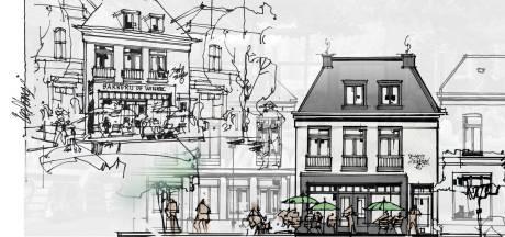 Nieuw, authentiek pand moet afgebrande bakkerij vervangen op Marktplein Brummen