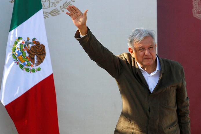 De Mexicaanse president Manuel Lopez Obrador.