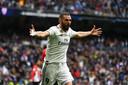 Karim Benzema steekt in bloedvorm. De laatste vijf competitieduels was hij trefzeker.