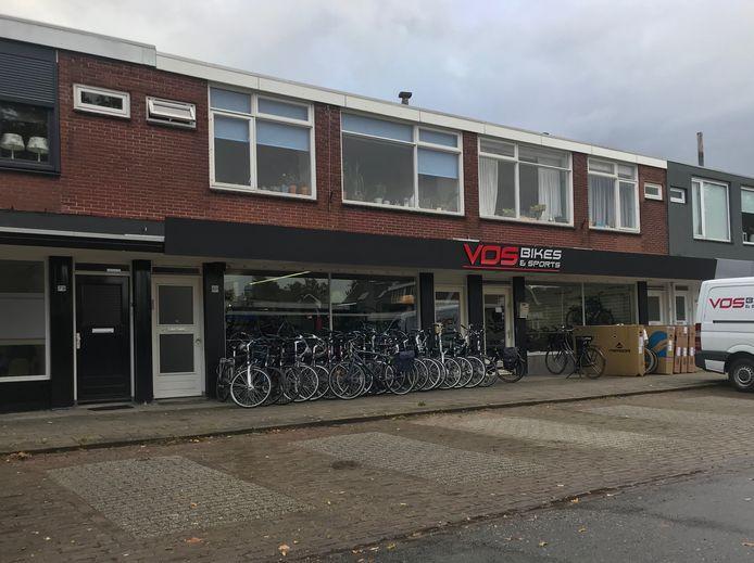 Vos Bikes & Sports aan de Kloppenstraat in Losser.