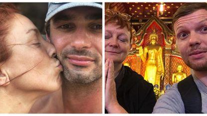 SHOWBITS. Natalia viert haar jarig lief en Jelle Cleymans reist met zijn mama door Thailand