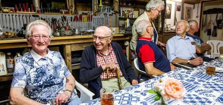 Holtense onderduikers na 72 jaar weer bij elkaar