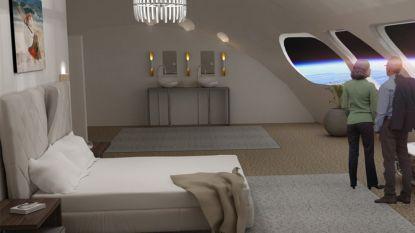 Dit is hoe het eerste ruimtehotel eruit zal zien