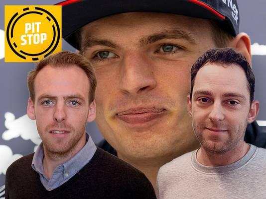F1 verslaggevers Arjan Schouten Rik Spekenbrink