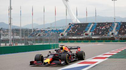 Max Verstappen rijdt naar toptijd in tweede oefenritten van Rusland