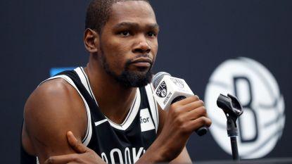 Kevin Durant komt dit seizoen niet meer in actie ondanks herstart NBA in Disney World