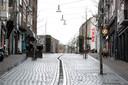 Lege winkelstraten in Nijmegen