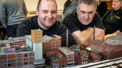 Modelspoorclub toont voor het eerst maquette van Kop van de Vaart