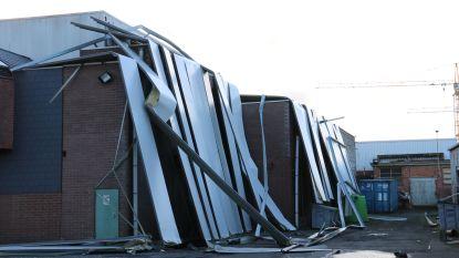 Naweeën Ciara zorgen nog altijd voor problemen: straat rond Tereos afgesloten, asbest in Ninove