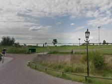 Noodgedwongen in het donker fietsen in Harderwijk