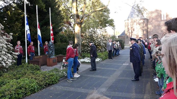 De Dodenherdenking in Sint-Michielsgestel.