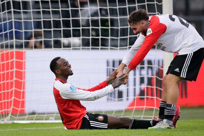 Ook Ridgeciano Haps (ziek) en Orkun Kökçü (geblesseerd) missen een aantal duels bij Feyenoord. De Turks international traint inmiddels wel weer mee bij Feyenoord.