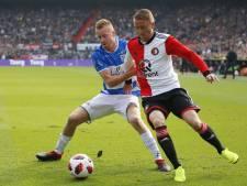 Schaduwspits Van Duinen: Eerste helft overvleugeld, na rust gewoon beter dan Feyenoord