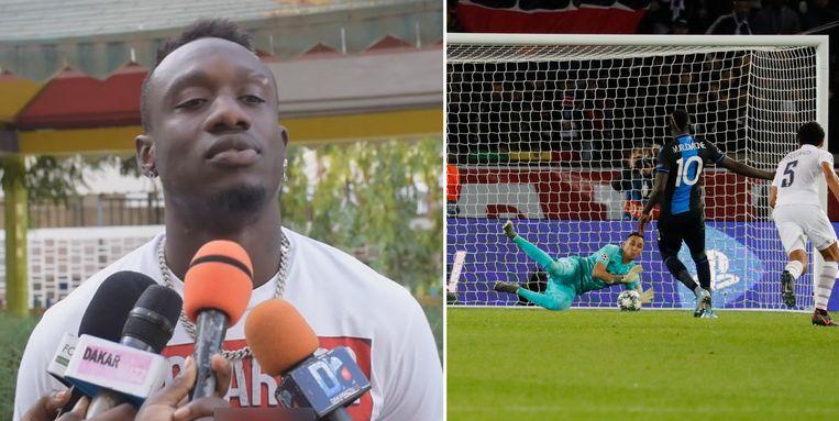 Diagne sprak voor het eerst over zijn penalty