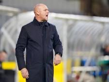 Hofland per direct weg als trainer van Fortuna Sittard: 'Extreem pijnlijk'