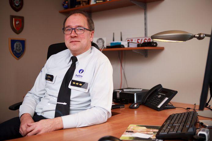 Johan Geeraert, korpschef van politiezone Polder.
