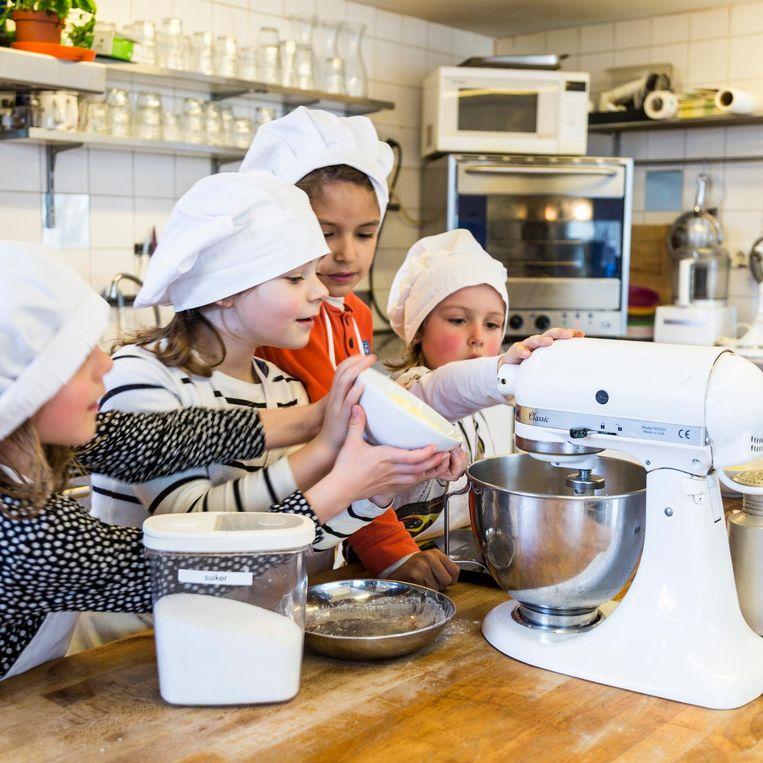 Kinderkookcafe Beeld Tammy van Nerum