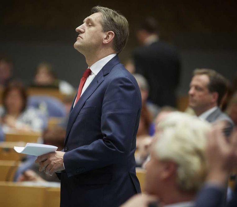 CDA fractievoorzitter Sybrand van Haersma Buma Beeld anp