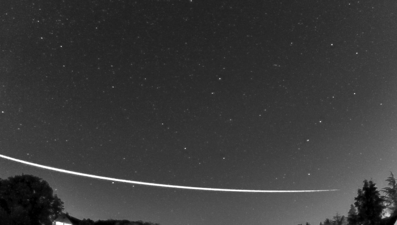 Meteoriet over Nederland en Duitsland