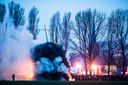 Het paasvuurin Zieuwent is één van de vele evenementen dat is geschrapt vanwege de coronamaatregelen.