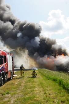 Brandweer heeft vlammenzee in Hasselt onder controle, geen asbest vrijgekomen