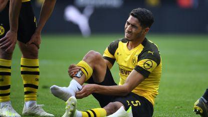 FT Buitenland. Dortmund mist Hakimi in titelstrijd tegen Bayern - Dinamo Zagreb en Dynamo Kiev bestraft na wangedrag fans