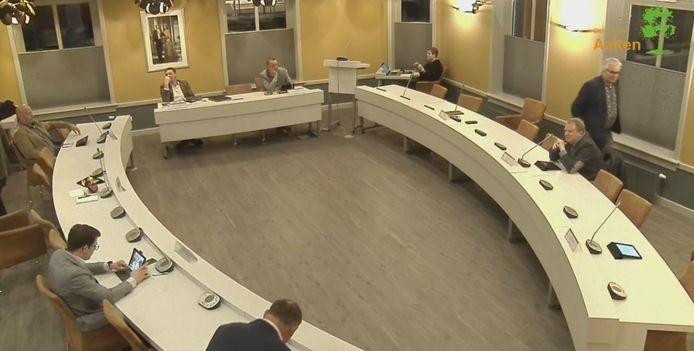 De uitgedunde gemeenteraad van Aalten.