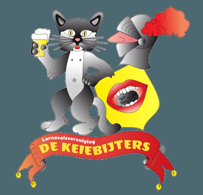 Logo van de Keiebijters in Noordwijkerhout